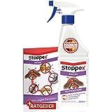 Stoppex® Parasit Mottenstopp- Spray gegen Motten, Lebensmittelmotten und Kleidermotten.