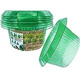 VDYXEW Schneckenkragen Für Lhre Salatpflanzen Und Kohl,Schneckenabwehr Ohne Chemie,Schneckenkragen Schützt Pflanzen,Um Besser Zu Werden,Salatpflanzen Schutz aus Plastik (15 Stücke)