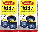Aeroxon - Silberfisch-Köderdose - 6 Stück - Silberfische bekämpfen einfach gemacht