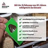 Biologische Beratung - Schlupfwespen gegen Lebensmittelmotten - Nachhaltige Bekämpfung von Motten in Lebensmittel, 4 Karten x 3 Lieferungen, Mottenschutz bei Dörrobstmotten, Mehlmotte