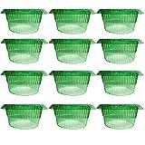 VDYXEW 12 Stücke Schnecken-Schutz, Schneckenkragen für Ihre Salatpflanzen und Kohl Schützt Pflanzen vor Tierfraß,Schneckenkragen Schützt Pflanzen,Um Besser Zu Werden,Salatpflanzen Schutz aus Plastik