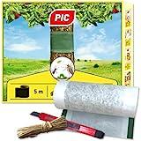 PIC Leimringe für Obstbäume - 5 Meter Baumleimring inklusive Bindedraht und Gratis Teppichmesser