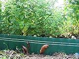 NV-Novum Vision Schneckenzaun-elektrisch, Schneckenzaun, Schneckenfalle, Schneckenabwehr, der Schneckenzaun schützt ihre Pflanzen 100%.(20m Zaun)