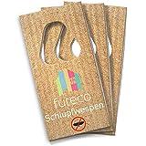 Futeco® – Schlupfwespen gegen Kleidermotten (3 Karten á 5 Lieferungen) – 100% Biologisch, Chemiefrei & Natürlich – Die zuverlässige Alternative zur klassischen Mottenbekämpfung – Made in Germany