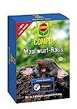 COMPO Maulwurf-Raus, Natürliches Vertreibe- und Fernhaltemittel gegen Maulwürfe, Mit Langzeitwirkung, 200 g