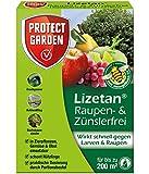 PROTECT GARDEN Lizetan Zünslerfrei, 10g Spritzmittel für schnelle und effektive Bekämpfung von schädlichen Larven und Raupen, braun, 10 g