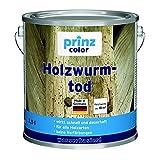 prinzcolor Premium Holzwurmtod Holzwurm-Ex Holzschutz Holzwurm Farblos Farblos 2,5l