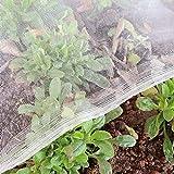 Gemüseschutznetz, Gemüsenetz 1.2×5m, Insektenschutznetz, Pflanzenschutznetz, Insektennetz Feinmaschig, Kulturschutznetz, Käfer Mücke Fliege Vogelnetz, Blumen Schutznetz für Garten