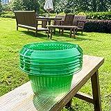 VDYXEW 20 Stücke Schnecken-Schutz   Schneckenkragen für Ihre Salatpflanzen und Kohl   Schneckenabwehr ohne Chemie   Schneckenkragen aus Plastik