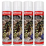 WESPEN-EX Power Spray 4x 400 ml -- Wespenspray Pyrethrum Insektizid Wespenschaum Wespenabwehr...