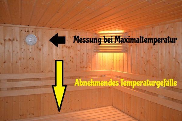 Holzwurm bekämpfen Hitze Sauna